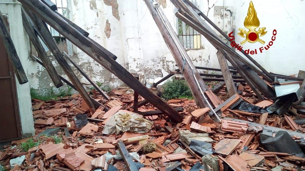 Crema News - Crollo in una casa abbandonata