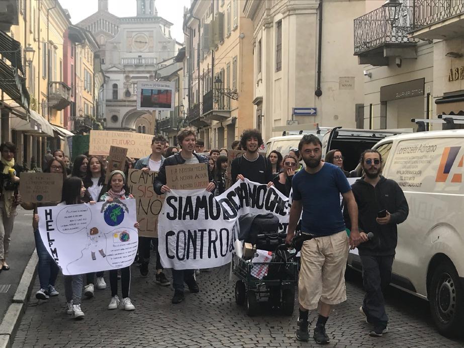 Crema News - I Fridays for future tornano in piazza