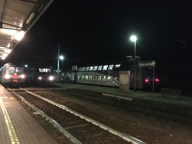 Crema News - Treno fermato: era partito senza il capotreno
