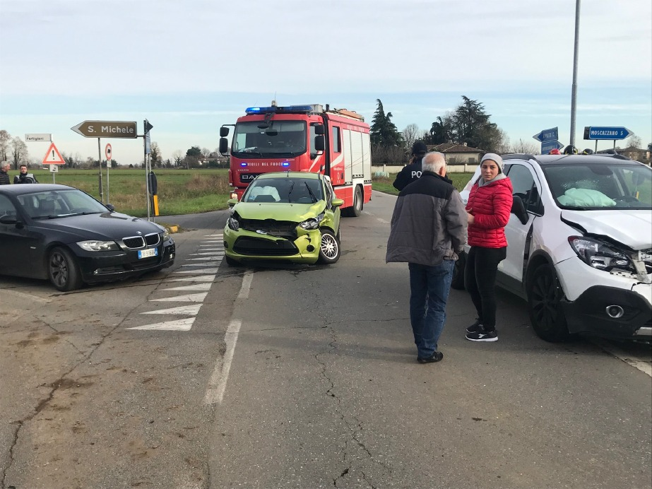 Crema News - Incidente a tre