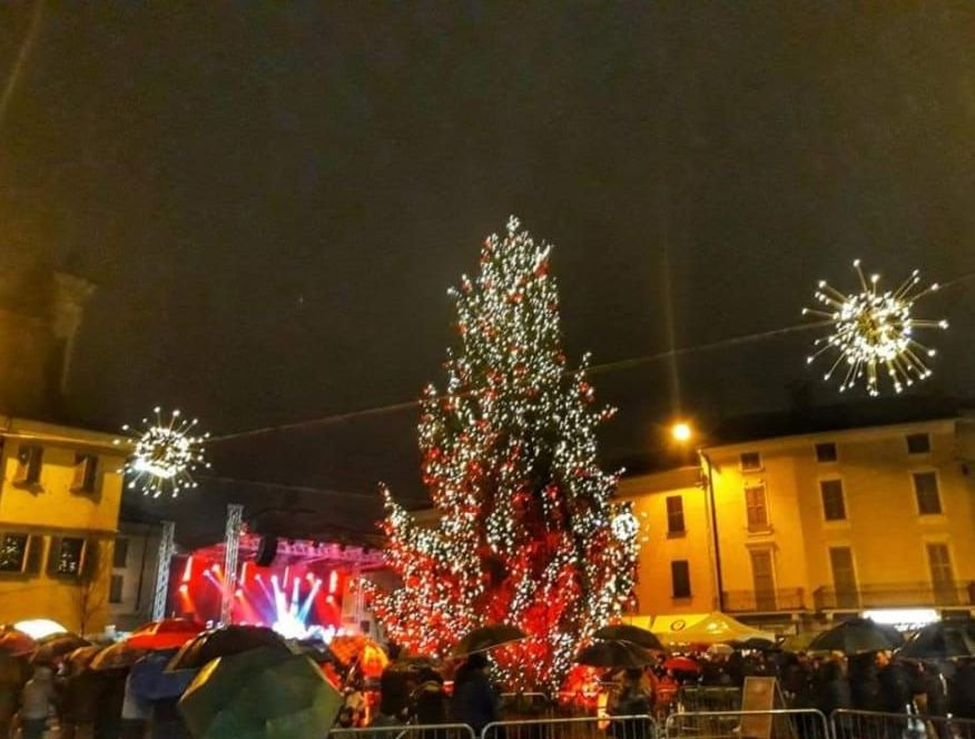 Crema News - Accesi albero e luminarie