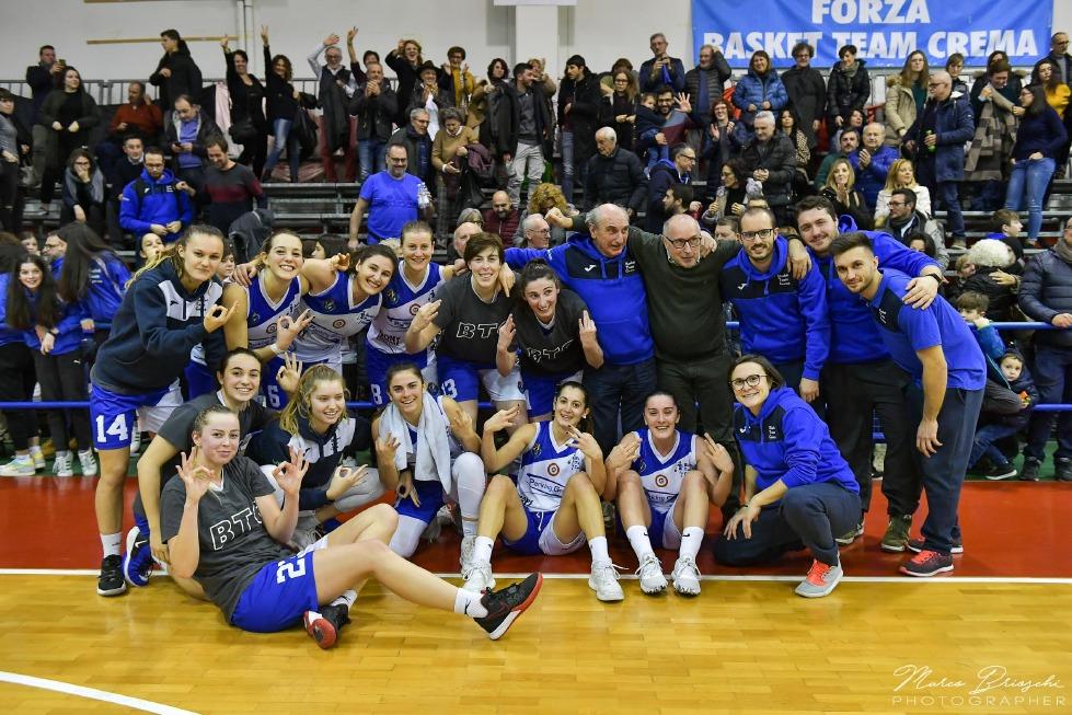 Crema News - Basket, serie A2 femminile. Basket team in vetta; risultati e classifica