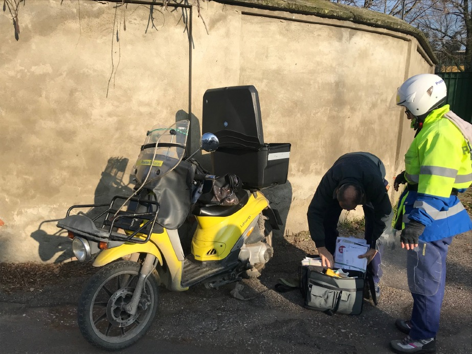 Crema News - Incidente alla postina