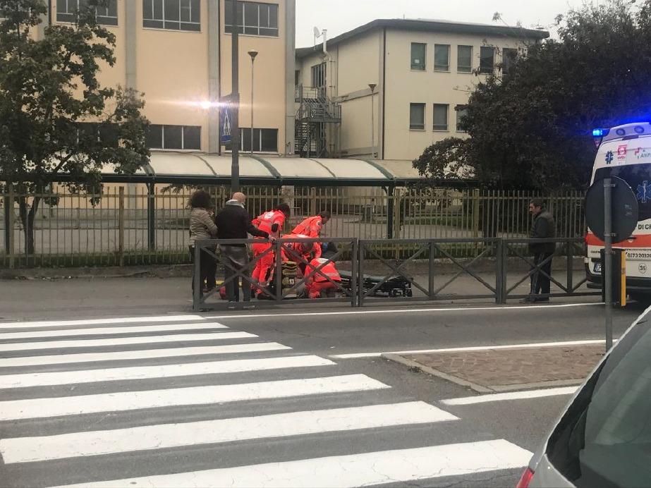 Crema News - Novantenne in bici contro Mercedes
