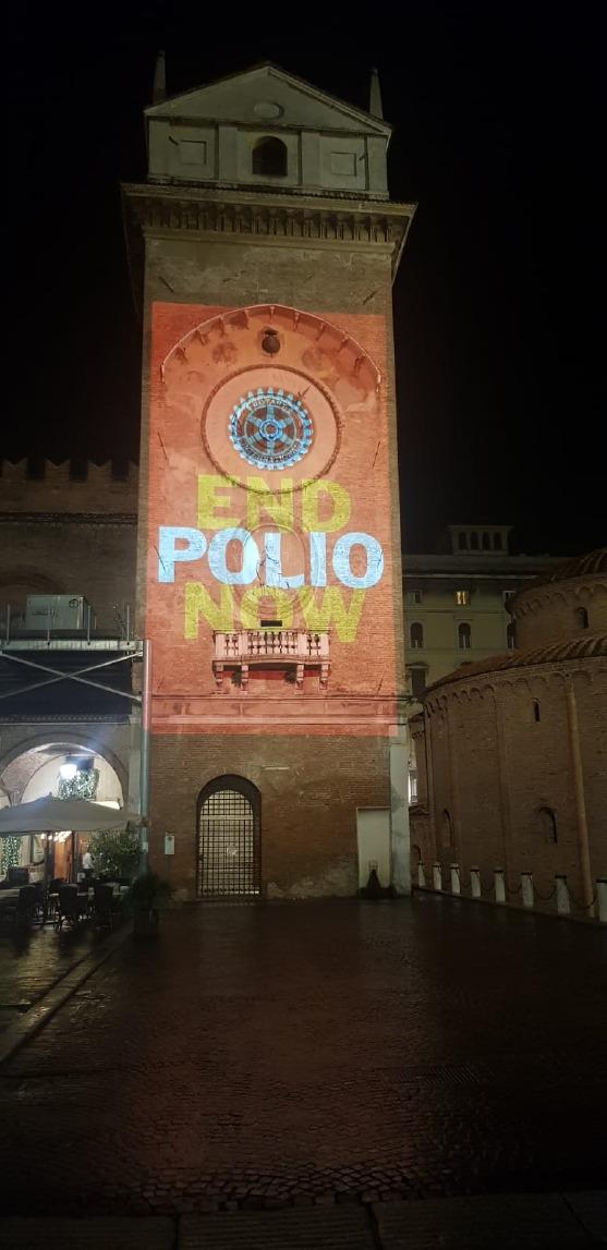 Crema News - Torrazzo anti polio