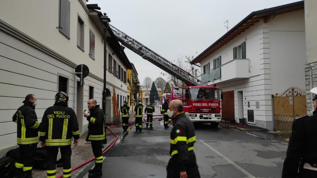Crema News - A fuoco palazzina