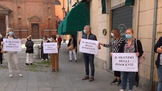Crema News - Protesta silenziosa