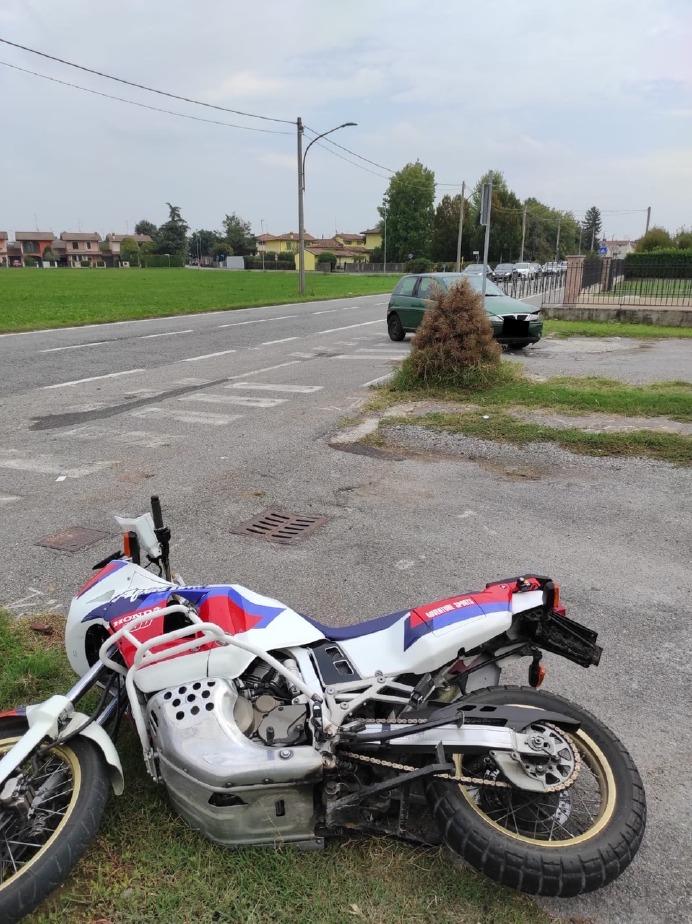 Crema News - Motociclista ferito