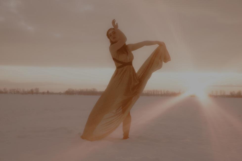 Crema News - L'abito nella neve