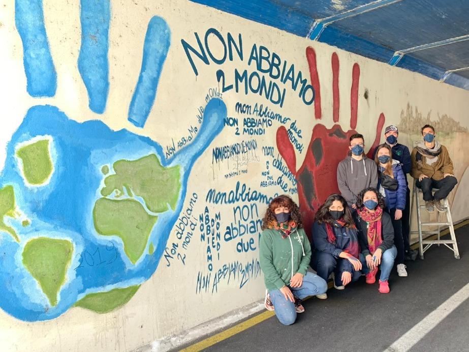 Crema News - Rifaccio il murale