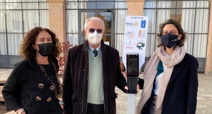 Crema News - Il Rotary regala termoscanner