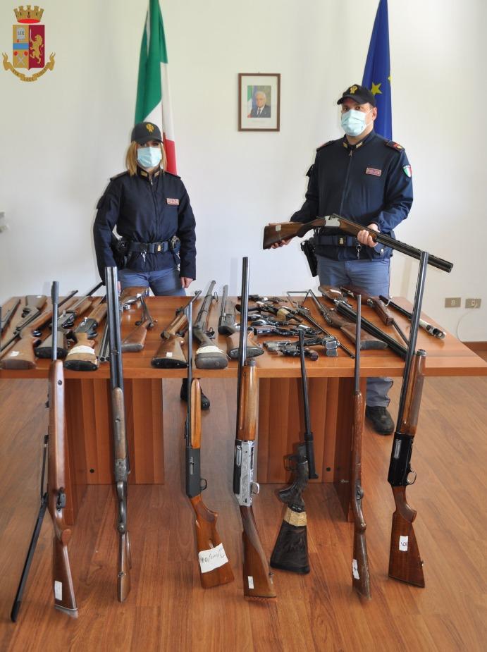 Crema News - Armi sequestrate