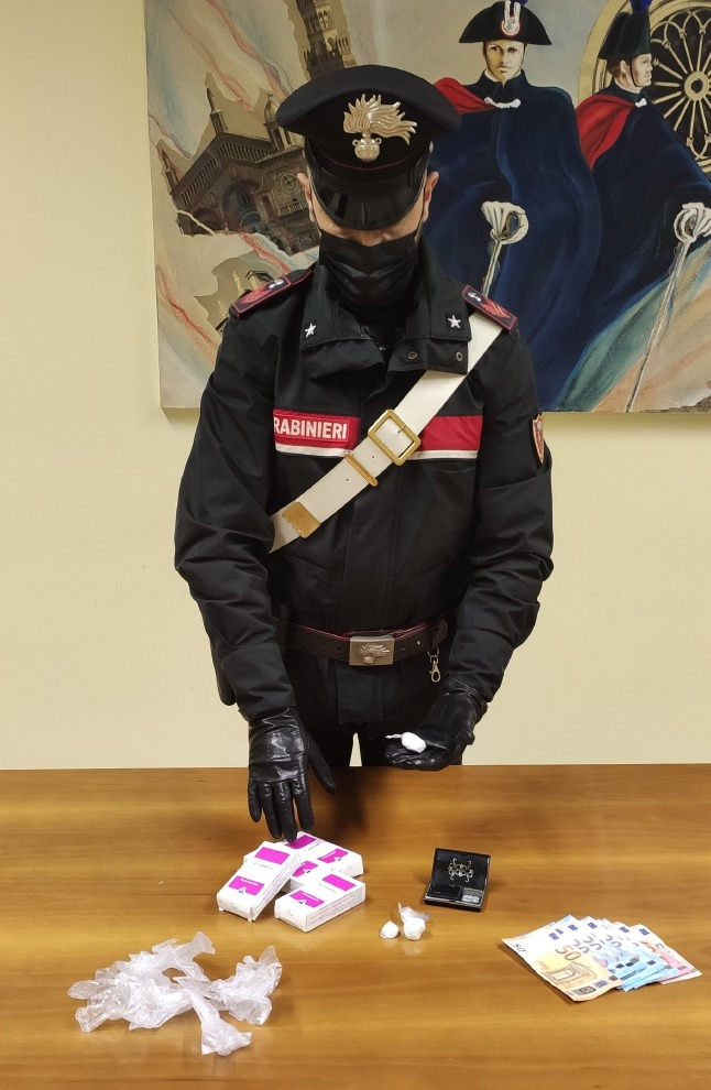 Crema News - Arrestato spacciatore