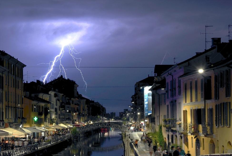 Crema News - Caldo, ma temporali in serata