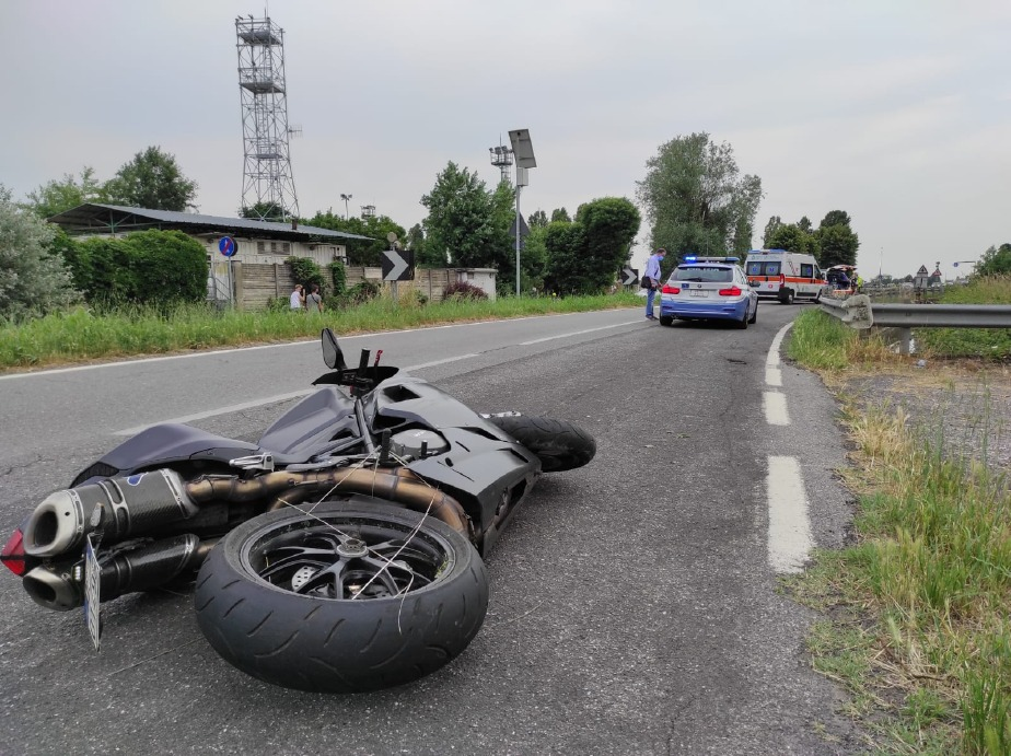 Crema News - Ferito motociclista