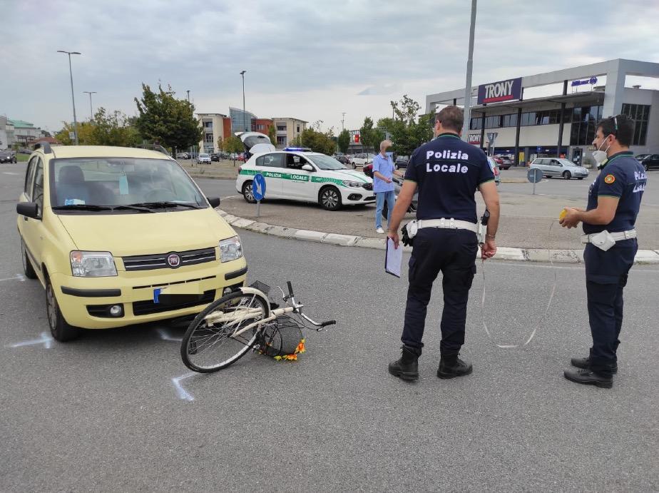 Crema News - Bici contro auto