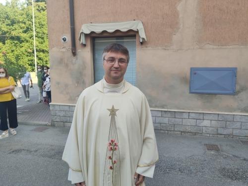 Crema News - Saluto a don Daniele