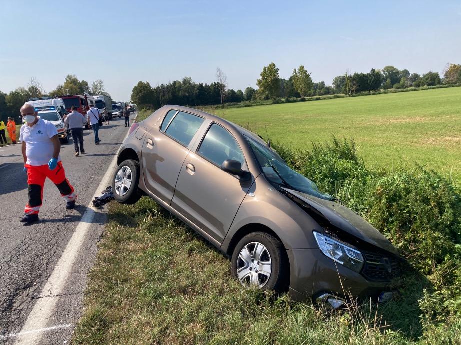 Crema News - Melotta bloccata per incidente